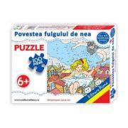 Puzzle - Povestea fulgului de nea - Contine 100 piese
