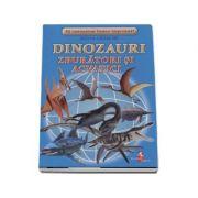 Sa cunoastem lumea impreuna! Dinozauri zburatori si acvatici (Set 16 cartonase cu imagini color si texte informatice)