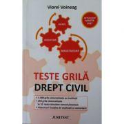 Teste grila, Drept civil - Viorel Voineag (Actualizat martie 2017)