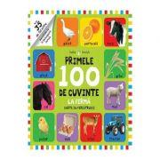 Bebe invata primele 100 de cuvinte - carte cu ferestruici (LA FERMA)