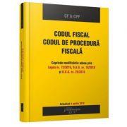 Codul fiscal. Codul de procedura fiscala. Actualizat 4 aprilie 2018 - Cuprinde modificarile aduse prin Legea nr. 72-2018, O. U. G. nr. 18-2018 si O. U. G. nr. 30-2018