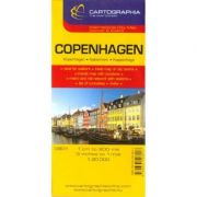 Harta rutiera Copenhaga