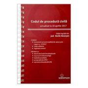 Codul de procedura civila - Actualizat la 20 aprilie 2017