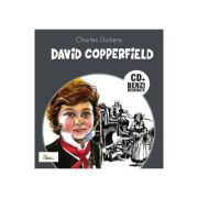David Copperfield - Carte cu CD si benzi desenate