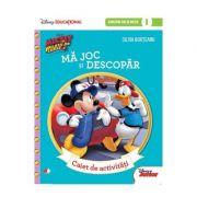 Mickey si pilotii de Curse. Ma joc si descopar. Caiet de activitati pentru grupa mijlocie - semestrul I. (Disney Educational)
