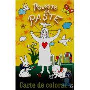 Poveste de paste - Carte de colorat