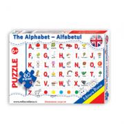Puzzle - The Alphabet - Alfabetul - Contine 60 piese