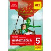 Matematica, caiet pentru vacanta de vara clasa a V-a. Clubul matematicienilor (2018)