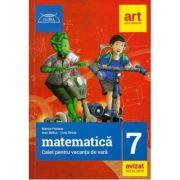 Matematica, caiet pentru vacanta de vara clasa a VII-a. Clubul matematicienilor (2018)