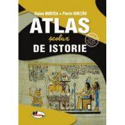 Atlas scolar de istorie. Omologat MEN nr. 27068/17 Mai 2018 - Doina Burtea