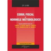 Codul fiscal si Normele metodologice. Actualizat 28 iunie 2018