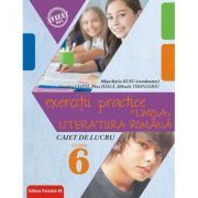 Exerciţii practice de limba şi literatura română. Caiet de lucru - Clasa a VI-a