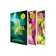My dilemma is you - Fenomenul literar al momentului, creat online si devenit bestseller international (Set 3 volume) - Cristina Chiperi