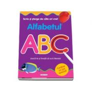 Scrie si sterge de cate ori vrei! Alfabetul ABC. Joaca-te si invata sa scrii literele!