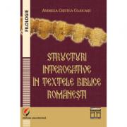 Structuri interogative în textele biblice româneşti