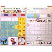 Calendarul naturii 2019. Intalnirea de dimineata - Joc educativ cu jetoane magnetice si 2 panouri feromagnetice