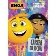 Emoji, cartea cu jocuri - Carte de colorat și cu activități