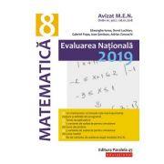 Evaluare nationala 2019 - matematica pentru clasa a VIII-a (Avizat MEN 2018) - Gheorghe Iurea
