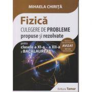 Fizica culegere de probleme propuse si rezolvate pentru Bacalaureat clasele a XI-a si a XII-a (avizat 2018)