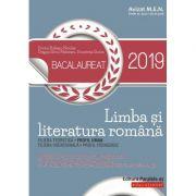 Bacalaureat 2019. Limba și literatura română. Profil uman - Avizat MEN (Dorica Boltasu-Nicolae)