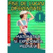 Fise de lucru diferentiate clasa I. Matematica si explorarea mediului
