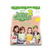 Happy Campers 2. Student Book and Workbook. Manual pentru clasa a II-a - Angela Llanas