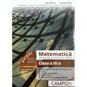 Matematica probleme si exercitii, Teste pentru clasa a IX-a semestrul 1 - Profilul tehnic (Marius Burtea, Georgeta Burtea)