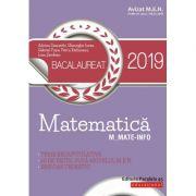 Matematică Bacalaureat 2019. M_Mate-Info (Avizat MEN)
