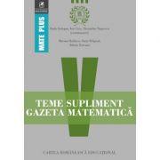 Teme supliment Gazeta Matematica - Clasa a V-a (Mate Plus) - Ion Cicu, Radu Gologan