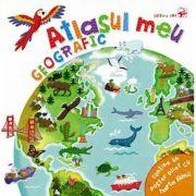 Atlasul meu geografic - Contine un poster pliat cu harta lumii