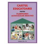 Caietul educatoarei pentru planificarea activitatilor didactice