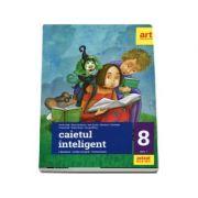 Caietul inteligent pentru clasa a VIII-a, semestrul I - Literatura. Limba romana. Comunicare (Editie 2018) - Florin Ionita