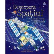 Descopera Spatiul. Carte cu peste 50 de clapete și o broșură cu Hărțile cerului