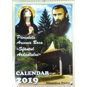 Calendar 2019 - Parintele Arsenie Boca, Manastirea Prislop