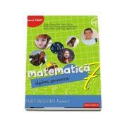Matematica. Algebra, geometrie. Caiet de lucru pentru clasa a VII-a. Semestrul I - Consolidare si aprofundare (Editie 2018) - Dragos Petrica
