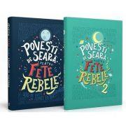 Pachet Povesti de seara pentru fete rebele - 200 de vieti de femei extraordinare (2 Volume) - Elena Favilli