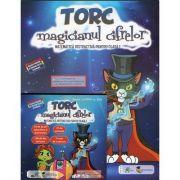Torc - magicianul cifrelor. Matematica distractiva pentru clasa I (Contine CD cu soft educational) - Dora Macean, Edu