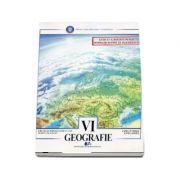 Geografie, manual pentru clasa a VI-a. Terra - elemente de geografie umana. Europa (Editia a II-a, revizuita) - Mihaela Cornelia Fiscutean