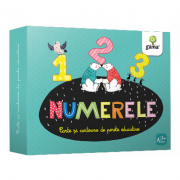 Numerele. Carte si cartoane de perete educative