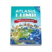 Atlasul lumii. Cartea cu autocolante
