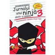 Jurnalul unui ninja dintr-a sasea, volumul 3 - Ascensiunea clanului ninja rosu