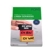 Forme si timpuri verbale, limba germana. 200 de exercitii pentru incepatori si avansati, colectia pons