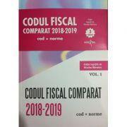 Codul Fiscal Comparat 2018-2019 (Cod+Norme) 3 volume
