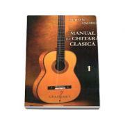 Manual de chitara clasica. Set Volumul I si Volumul II