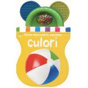 Bebe invata - Culorile. Prima carte-jucarie