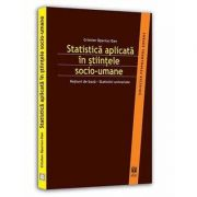 Statistica aplicata in stiintele socio-umane