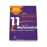 Culegere - Matematica algebra, analiza matematica – Clasa a XI-a – pentru pregatirea la clasa si bacalaureat - Marin Chirciu