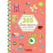 365 de jocuri educative pentru fetițe 4 ani +