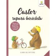 Castor repara bicicleta - Lars Klinting