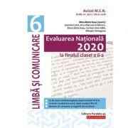 Evaluarea Națională 2020 la finalul clasei a VI-a. Limbă și comunicare